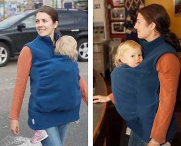 Peekaru: abrigo para el portabebé
