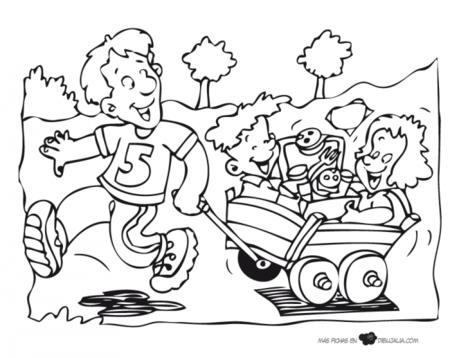 Selección de dibujos para imprimir, colorear y regalar en el Día del ...