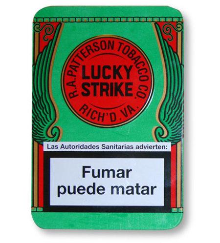 Lucky Strike edición limitada en caja metálica