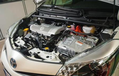 Prueba Toyota Yaris hybrid Motor