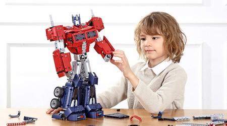 Xiaomi y Hasbro se unen para crear este impresionante juguete Transformer de Optimus Prime