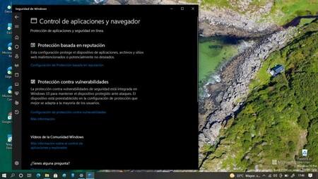 Control de aplicaciones y navegador
