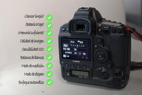 Lista completa (para principiantes) de las cosas que no debemos olvidarnos de ajustar al hacer una foto