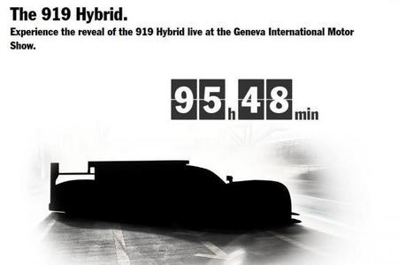Porsche presentará en sociedad el 919 Hybrid durante el Salón del Automóvil de Ginebra