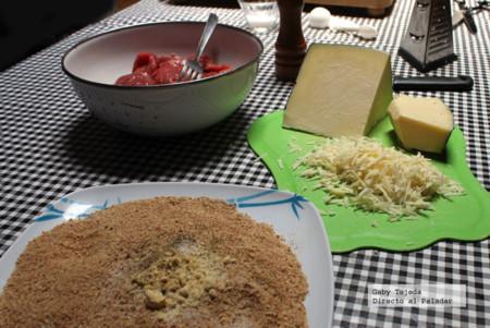 Pan y parmesano p empanizar cmda