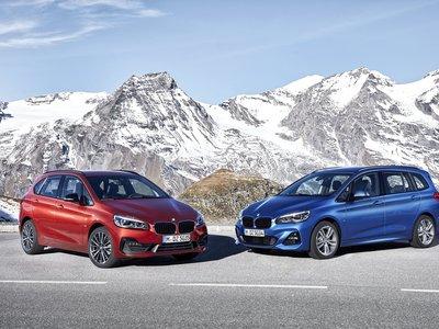 Los BMW Serie 2 Active Tourer y Gran Tourer han cambiado aunque no lo parezca: motores, imagen y más equipamiento