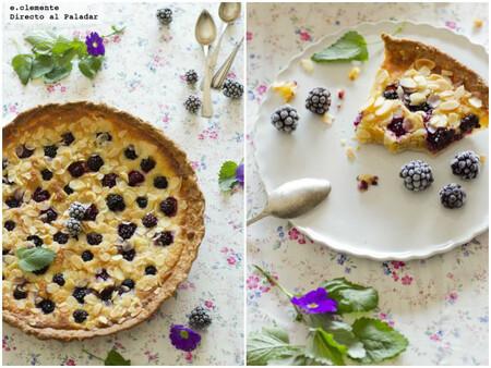 Tarta de almendra y moras: receta para celebrar el final del verano