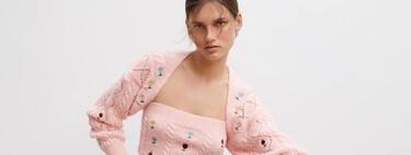Este es el set floral de Zara que más se parece al famoso look que llevó Kendall Jenner en 2019