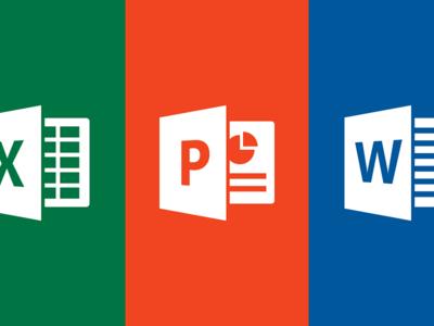 Microsoft Word, PowerPoint y Excel mejor sus características de uso compartido
