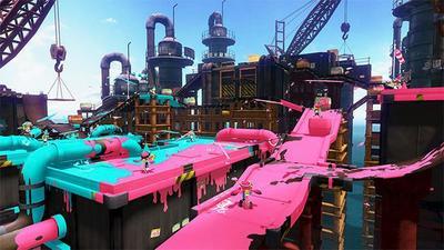 El fontanero más famoso de Nintendo podría haberse vuelto pintor en Splatoon