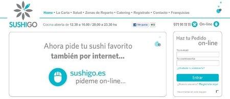 SushiGo, cocina japonesa a domicilio que basa su negocio en la web
