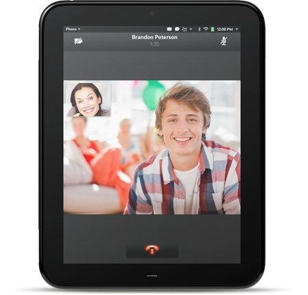 HP TouchPad y altavoces