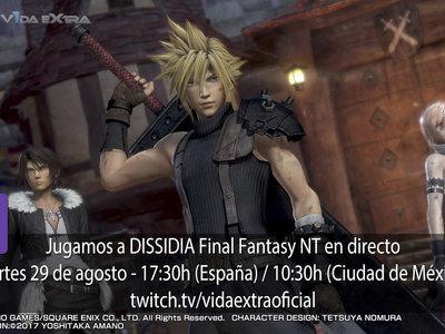 Jugamos en directo a DISSIDIA Final Fantasy NT a las 17.30h (las 10.30h en Ciudad de México) [Finalizado]