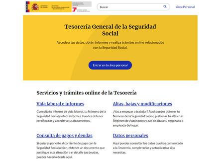 Así es Import@ss, el nuevo portal de la Seguridad Social que pone el foco en el ciudadano