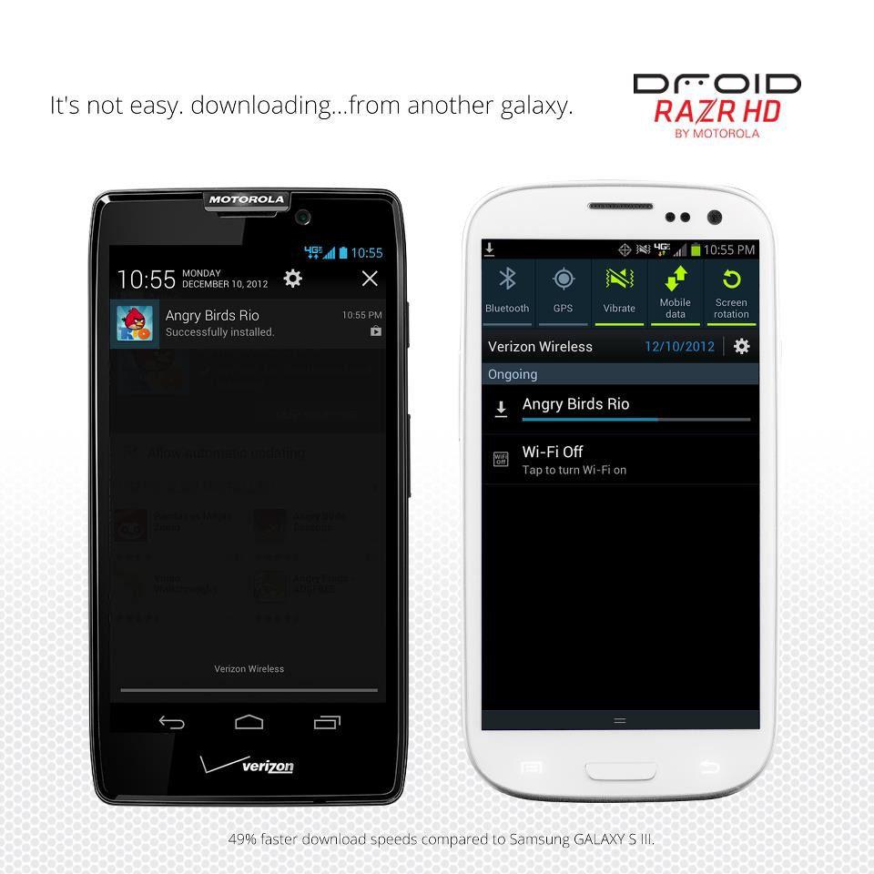 Foto de Motorola RAZR HD vs Samsung Galaxy SIII (1/5)