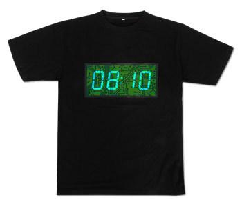 Camiseta horaria