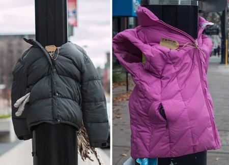 Children Donate Warm Clothes Homeless Winter Canada Tara Smith Atkins 6