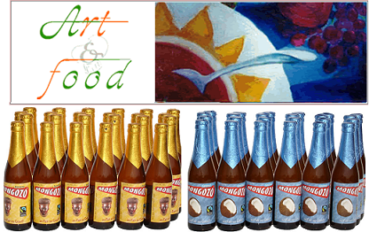 Art & Food, cervezas de coco, banana o palma entre otras