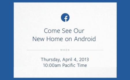 """Facebook y su """"nuevo hogar en Android"""", el 4 de abril lo sabremos"""