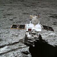 682 metros recorridos por la cara oculta de la Luna por el rover chino desde su llegada hace más de 800 días