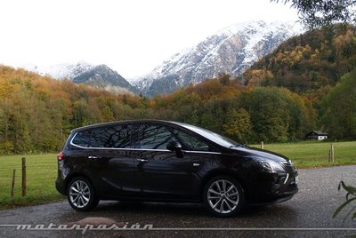 Opel Zafira Tourer, presentación y prueba en Múnich (parte 1)