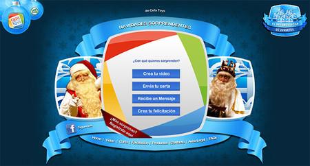Navidades Sorprendentes: Papá Noel y los Reyes Magos ya están aquí otra vez para felicitar con un vídeo a los niños