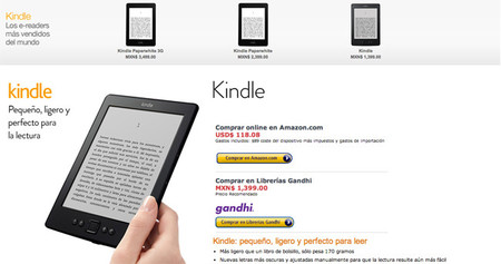 Amazon México Kindle
