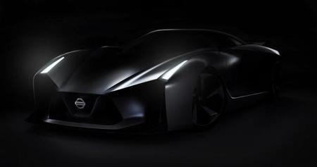 Teaser de un misterioso deportivo de Nissan
