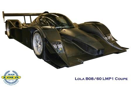 Primera imagen del nuevo Lola B08/60 para asaltar Le Mans