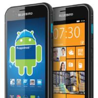 BlueBird BM180, el primer smartphone que puede correr Android y un pseudo Windows Phone 8