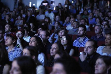 espectadores de cine