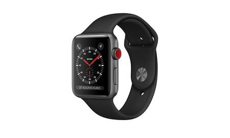En Amazon, ahora te dejan el Apple Watch Series 3 LTE de 38 mm por sólo 319 euros
