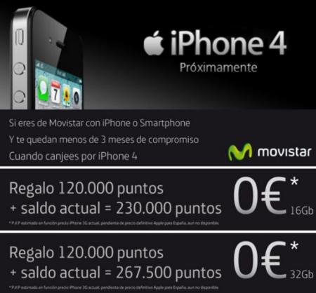 Movistar revela algunas tarifas para renovar el iPhone