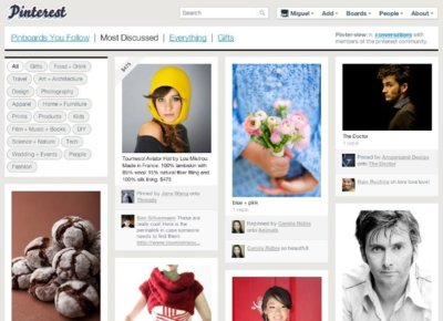 A fondo: Pinterest, a medio camino entre Tumblr y un catálogo temático