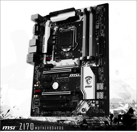 MSI nos quiere seducir con su motherboard Z170 Krait Gaming para Intel Skylake