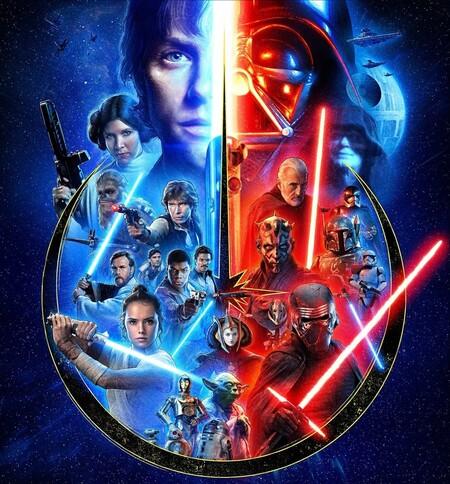 Orden para ver el contenido de Star Wars en Disney+