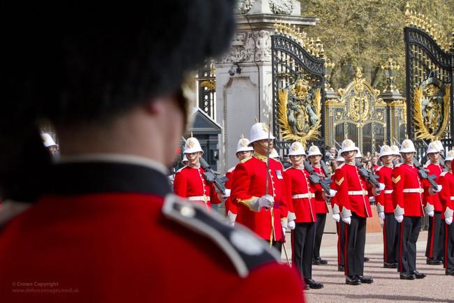 Cambio Guardia Londres