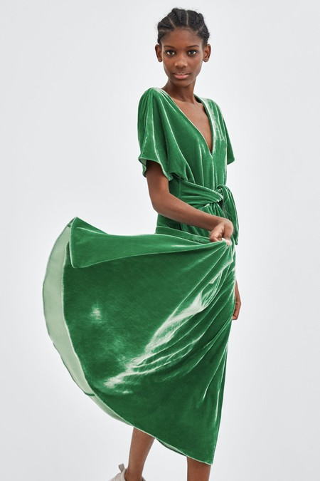 Vestido Zara Fiesta Color 01