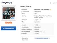 Dead Space y Modern Combat 2: Black Pegasus, gratis en Samsung Apps