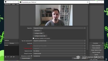 Configura Webcam