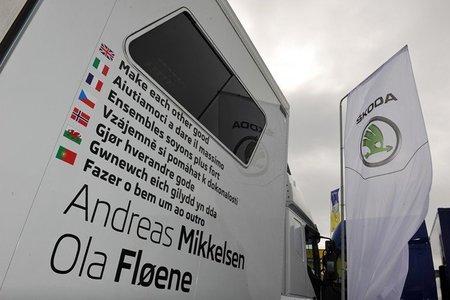 Andreas Mikkelsen primer líder del Rally de Azores