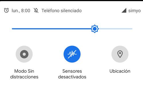 Cómo desactivar la cámara, micrófono y todos los sensores de tu móvil con un solo toque en Android 10