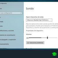 Cómo configurar el sonido en Windows 10