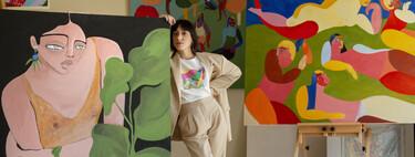Mango celebra el Día Internacional de la Mujer con una colección cápsula sostenible con fines solidarios ilustrada por Ana Leovy