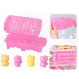 Cubitos de hielo de Hello Kitty