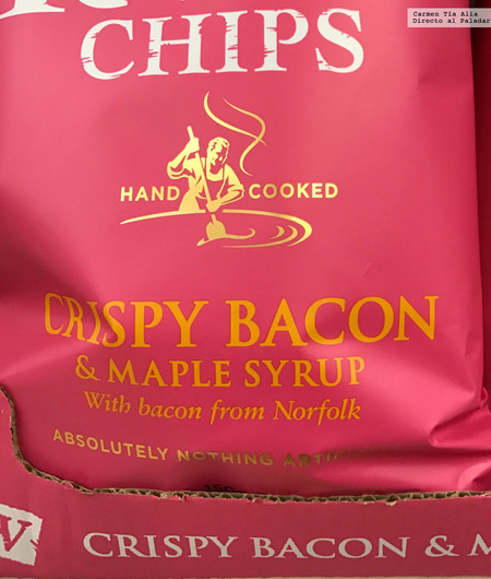 Crispy Bacon And Maple Syrup