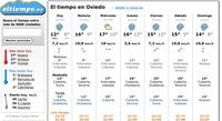 ElTiempo.es, predicción meteorológica semanal para España