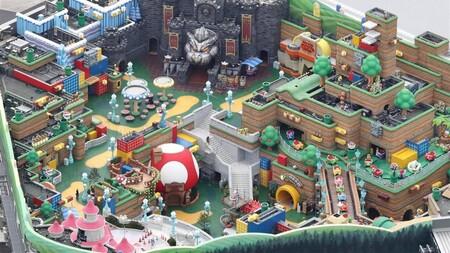 El parque de atracciones Super Nintendo World de Japón está cerca de finalizar su construcción, y hay imágenes que lo demuestran