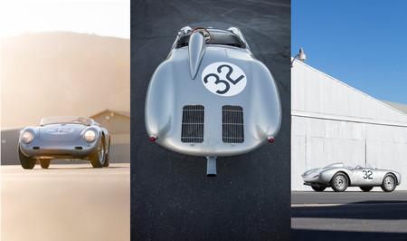"""Sale a subasta este Porsche 550A Spyder de 1958 que se ganó el apodo de """"matagigantes"""""""