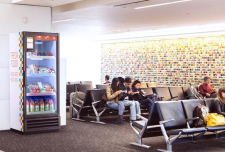 Pantry, una máquina expendedora inteligente de productos frescos